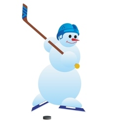 Hockey player-1 vector