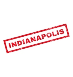 Indianapolis Rubber Stamp vector