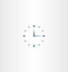 mechanical clock icon vector image