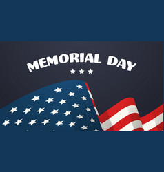 memorial day usa greeting card wallpaper national vector image