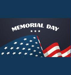 Memorial day usa greeting card wallpaper national vector