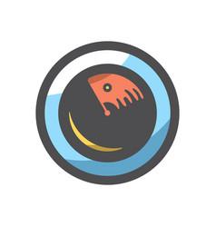 radar screen simple icon cartoon vector image