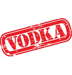 Vodka Stamp vector