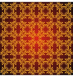 seamless vintage golden vector image vector image