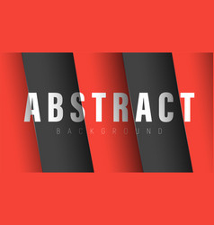 abstract background with red and black diagonal vector image