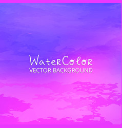 abstract watercolor splash purple and pink vector image