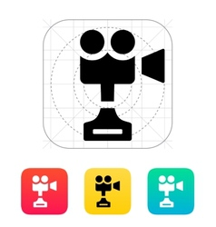 Camera cup icon on white background vector image