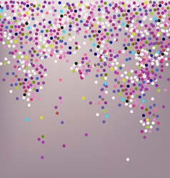 Confetti New Years celebration vector