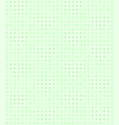 Green square pattern with hearts seamless vector