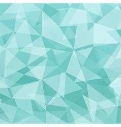 Ice Blue polygonal background vector