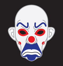 Joker Mask vector