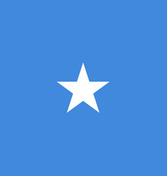 national somalia flag vector image