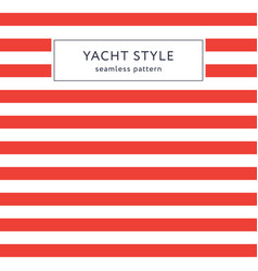 simple stripes seamless pattern vector image