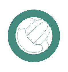 sport voleyball ball vector image