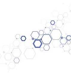 structure molecule and communication vector image