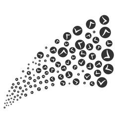 Apply source stream vector