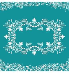 Frame fancy background vector