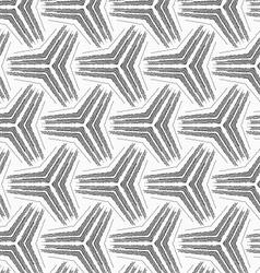 Monochrome rough striped small tetrapods vector image