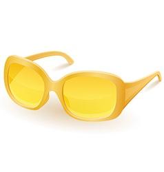 women sunglasses vector image