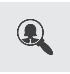 User search icon vector image