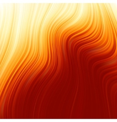 Abstract glow Twist with golden flow EPS 8 vector image