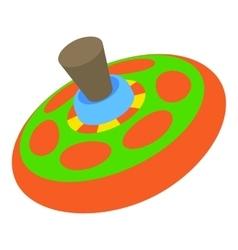 Children toy whirligig icon cartoon style vector