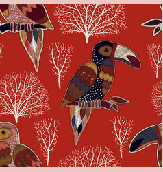 Colorful decorative pattern nature background vector