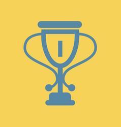 Cup winner cup award vector