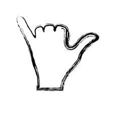 human hands design vector image