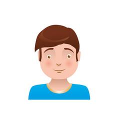 Kid child boy avatar vector