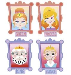 Kings Family vector