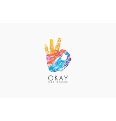 Okay logo Ok logo design Creative logo design vector