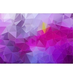 Violet abstract background consisting angular vector