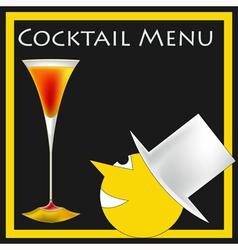 Vintage Cocktails vector image