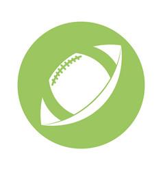 american football sport ball vector image