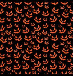 Art seamless pattern for happy halloween vector