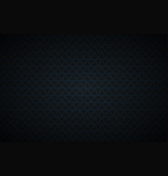 Black abstract background with blue rectangles vector