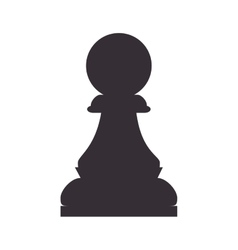 Chess piece game pawn vector