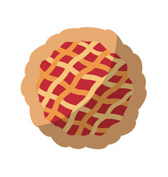 Pie icon image vector
