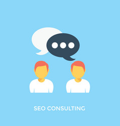 Seo consulting vector