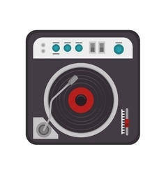 vinyl technology device vector image