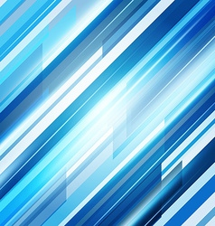 Blue Abstract Straight Lines Background vector image