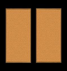 pin board pair vector image vector image