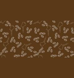 cezve coffee seamless vector image
