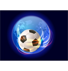 soccer world 1 vector image vector image
