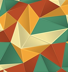 Abstract colorful geometric polygonal background vector