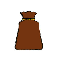Bag sack object vector
