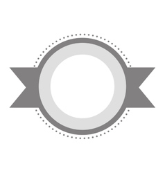 blank emblem icon image vector image