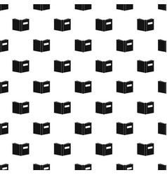book inverted pattern seamless vector image