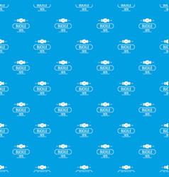 Buckle metal pattern seamless blue vector